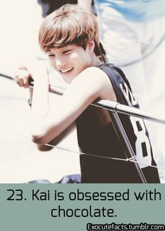 Me too!!!This is one of my many reasons that I love Kai<3