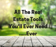 We put together a list of all the most useful real estate tools out there. We put quite a few on here so you can filter them based on what type of tool you're looking to implement.