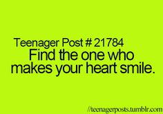 Find the one that makes your heart smile
