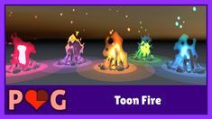 Toon Fire shader in Unity Unity Game Development, Unity Tutorials, Game Effect, Unity Games, Blender Tutorial, Sandbox, Game Design, Fire, Make It Yourself
