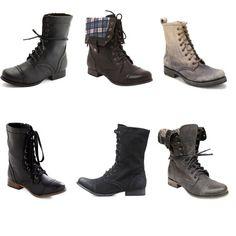 combat boots -