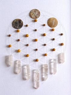 GRATITUDE framed sacred crystal grid quartz, aragonite, sandalwood, shell, flower of life -> Great tools for light-workers.. Flower of Life T-Shirts, V-necks, Sweaters, Hoodies & More ONLY 13$ EACH! LIMITED TIME CLICK ON THE PIC