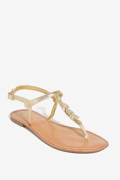 Women's Sandals | Eileen Super Stars T Strap Sandal | A'GACI