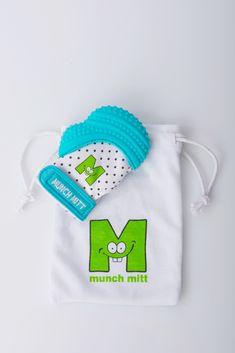 Munch Mitt - Aqua Blue