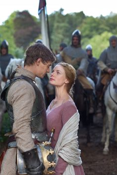 The White Queen - Elizabeth Woodville and king Edward IV