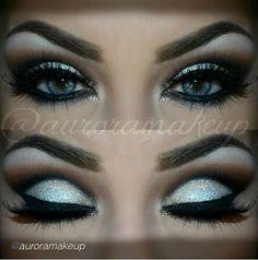 Definitely prom makeup!