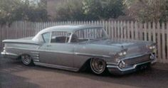 Hydraulics - Kustomrama 1958 Chevy Impala, Teddy Boys, Scrambler, Drag Racing, Bobber, Old School, Volkswagen, Chevrolet, Porsche