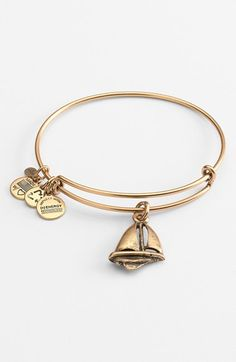 Alex+and+Ani+Sailboat+Expandable+Wire+Bangle+available+at+#Nordstrom