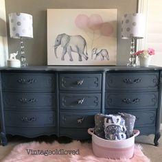 "Queenstown Gray ""Elephant"" Dresser | General Finishes Design Center"