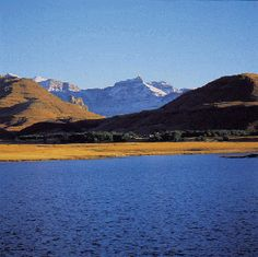 Rhino Peak in the Southern Drakensberg of South Africa - covered in snow!
