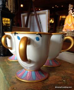 Bonjour Village Gifts (right next to Gaston's Tavern) in New Fantasyland has the Chip cup!!