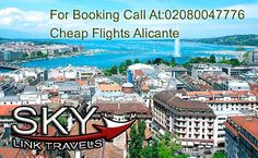 flights to alicante from london