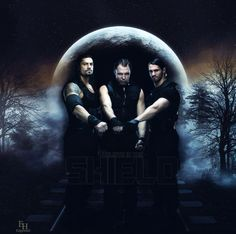 The Shield: Roman Reigns (L), Dean Ambrose (M) and Seth Rollins (R) Dean Ambrose Shield, Roman Regins, The Shield Wwe, Nxt Divas, Wwe Roman Reigns, Seth Rollins, Wwe Superstars, My Best Friend, Evolution