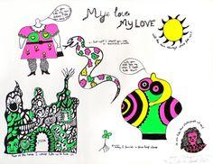 Niki de Saint Phalle - My Love My Love
