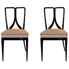 Guglielmo Ulrich pair of chairs | From a unique collection of antique and modern chairs at http://www.1stdibs.com/furniture/seating/chairs/