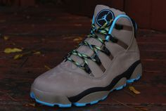 Jordan 6 Rings Winterized Boot | Khaki & Gamma Blue