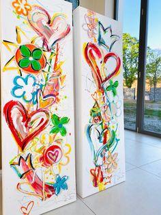 Kerstin Leicher ART Contemporary Art, Free, Paintings, Prints, Painting Art, Paint, Painting, Painted Canvas, Drawings