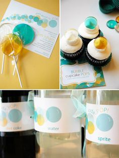yellow & blue for a perfect gender neutral baby shower theme