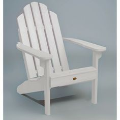 Highwood Eco-Friendly Synthetic Wood Classic Adirondack Beach Chair - Overstock™ Shopping - Big Discounts on highwood Sofas, Chairs & Sectionals Wood Adirondack Chairs, Outdoor Chairs, Outdoor Furniture, Outdoor Decor, Garden Furniture, Outdoor Living, Plastic Patio Chairs, Recycled Plastic Adirondack Chairs, Accent Chairs Under 100