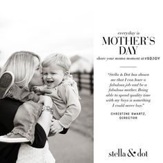 We're so happy to begin sharing stories from some of the incredible mothers & Stylists in our community as Mother's Day approaches #everydayismothersday #sdjoy