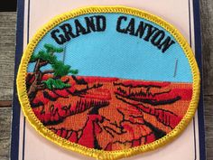 Grand Canyon Vintage Souvenir Travel Patch from Monterey Patch- LAST ONE! by HeydayRoadTrip on Etsy