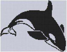 Killer Whale 4 Cross Stitch Pattern