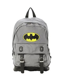 DC COMICS BATMAN BUCKLE BACKPACK: