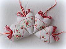 Dekorácie - Srdiečka - ružičky s veľkou mašlou - 5053917_