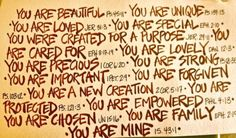 I praise you because I am fearfully and wonderfully made; your works are wonderful, I know that full well (Psalm 139:14)