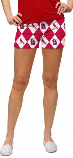 Cardinals Argyle Women's Mini Short MTO