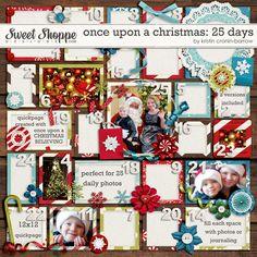 Once Upon A Christmas: 25 Days by Kristin Cronin-Barrow