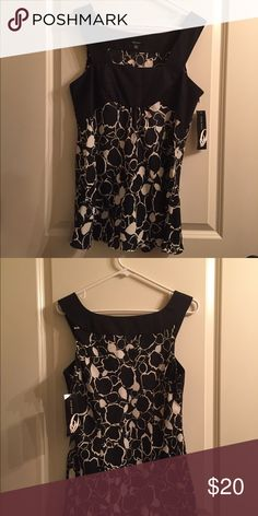 Nine West Tank NWT This tank is perfect for the office or paired with your favorite jeans! Nine West Tops Tank Tops
