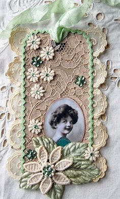 JULIE - this made me think of something you would create. Just beautiful and wonderfully Victorian!