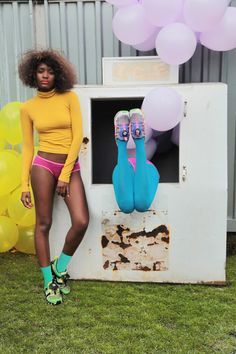 'Girls of Blaze Disc Collection' for PUMA.  Art direction and creative concept by Solange! Photography by Alan Ferguson