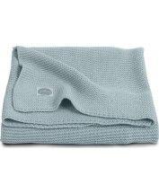 Deken Ledikant Basic Knit Stone Green   Deken Ledikant