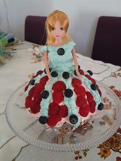 Gâteau princesse myrtilles/framboises