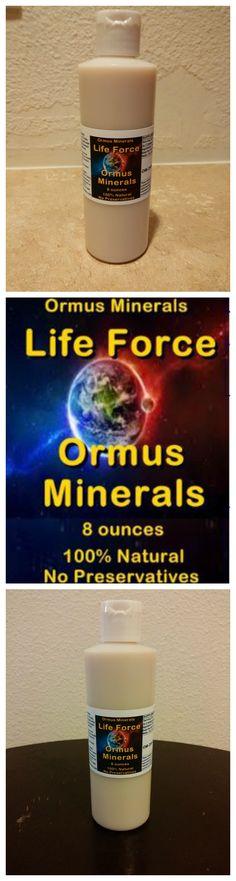 Life Force Energy Ormus 8oz  $40