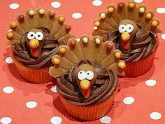 Thanksgiving Cupcakes Recipe
