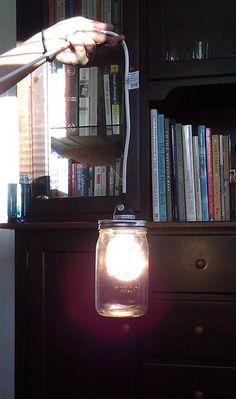 Easy & Cheap Hanging Jar Light