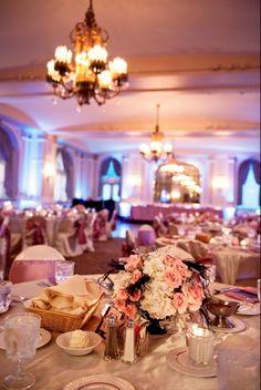 art deco wedding, art deco pink wedding, pink and white wedding reception