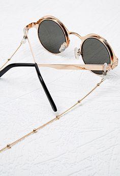Beaded eyeglass chain Cordinha Oculos, Cordão Para Oculos, Correntes, Oculos  De Sol, b4a59a3e00