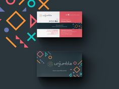 Unjumble Business Card
