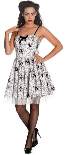 c9bad5328b Hell Bunny Mary Jane Mini Dress - Suicide Glam Australia