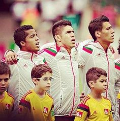 Dos Santos, Peralta, and Moreno #mexico