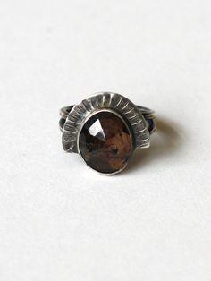 Annika Kaplan Brown Sapphire Ring
