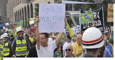 Crescem os movimentos CONTRA O GOVERNO PETISTA. Protesto na Avenida Paulista pede INTERVENÇÃO MILITAR e Investigação CONTRA LULA.