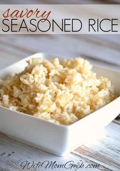 Savory Seasoned Rice