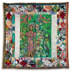A quilt by Faith Ringgold, the first quilt by the African-American artist ever to hit the auction market, brought $461,000 at Swann Galleries in New York on Sept. 15.   The quilt led an auction totalling $1.3 millionfor 50 artworks from famed writer and activistMaya Angelou's estate. Ringgold'...