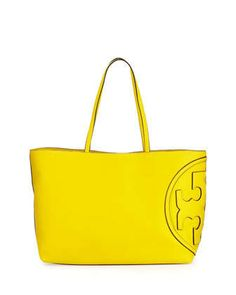 All-T+East-West+Tote+Bag,+Reptile+Yellow+by+Tory+Burch+at+Neiman+Marcus.