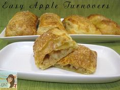 Lady Behind The Curtain - Easy Apple Turnovers